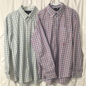Tommy Hilfiger Bundle -2 button down Shirts